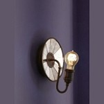 Feiss One Light Astral Bronze Wall Light - WB1701ASTB