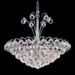 "Godiva Collection 8-Light 22"" Chrome Pendant with Clear  Swarovski Strass Crystal 2001D22C/SS"