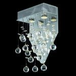 "Galaxy Collection 2-Light 12"" Chrome Wall Sconce with Clear  Swarovski Strass Crystal 2021W12C/SS"