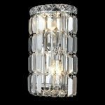 "Maxim Collection 2-Light 6"" Chrome Wall Sconce with Clear  Swarovski Strass Crystal 2030W6C/SS"