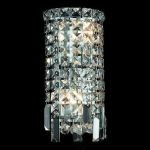 "Maxim Collection 2-Light 6"" Chrome Wall Sconce with Clear  Swarovski Strass Crystal 2031W6C/SS"