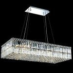 "Maxim Collection 16-Light 18"" Chrome Island Light with Clear  Swarovski Strass Crystal 2034D36C/SS"