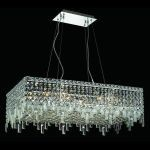 "Maxim Collection 16-Light 16"" Chrome Island Light with Clear  Swarovski Strass Crystal 2035D32C/SS"