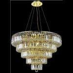 "Maxim Collection 17-Light 30"" Gold Chandelier with Clear  Swarovski Strass Crystal 2036D30G/SS"