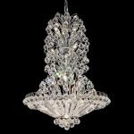 "Sirius Collection 14-Light 28"" Chrome Chandelier with Clear  Swarovski Strass Crystal 2908D28C/SS"