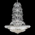 "Sirius Collection 43-Light 48"" Chrome Chandelier with Clear Swarovski Spectra Crystal 2908G48C/SA"