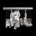 "Chorus Line Collection 3-Light 12"" Chrome Wall Sconce with Clear Royal Cut Crystal 3100W16C/RC"