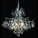 "Toureg Collection 6-Light 16"" Chrome Chandelier with Clear Royal Cut Crystal 8000D16C/RC"