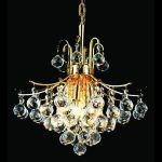 "Toureg Collection 6-Light 16"" Gold Chandelier with Clear  Swarovski Strass Crystal 8000D16G/SS"