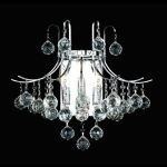 "Toureg Collection 3-Light 16"" Chrome Wall Sconce with Clear  Swarovski Strass Crystal 8000W16C/SS"