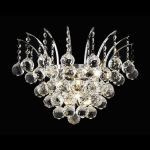 "Victoria Collection 3-Light 16"" Chrome Wall Sconce with Clear  Swarovski Strass Crystal 8031W16C/SS"