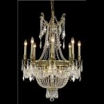 "Esperanza Collection 12-Light 26"" Antique Bronze Chandelier with Clear  Swarovski Strass Crystal 9312D26AB/SS"