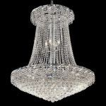 "Belenus Collection 22-Light 36"" Chrome Chandelier with Clear Elegant Cut Crystal ECA1G36SC/EC"
