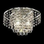 "Belenus Collection 2-Light 12"" Chrome Wall Sconce with Clear  Swarovski Strass Crystal ECA1W12C/SS"
