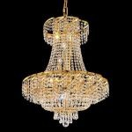 "Belenus Collection 15-Light 26"" Gold Chandelier with Clear  Swarovski Strass Crystal ECA2D26G/SS"