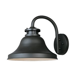 "Bayport Collection Dark Sky 1-Light 10"" Bronze Outdoor Wall Sconce 31331-BZ"
