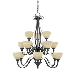 Del Amo Collection 15 Light Chandelier 828815-BNB