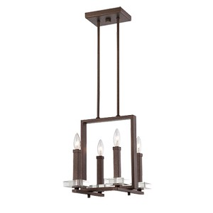 Fieldhouse Collection 4 Light Chandelier 84384-FBZ