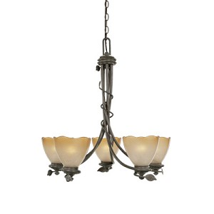 Timberline Collection 5 Light Chandelier 95685-OB