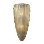 "Luminese Collection Aged Bronze 2-Light 7"" Wall Sconce 10280/2"