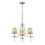"Clarendon Collection Silver 3-Light 16"" Chandelier 14081/3"