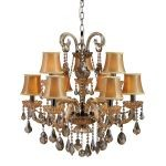 "Jolianne Collection 28"" 9-Light Chandelier 24002/6+3"