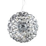 "Odyssey 42-Light 36"" Polished Chrome 32% Lead Crystal Pendant Chandelier 30007/42"