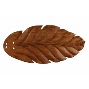 "Emerson Fans 22"" Hand Carved Dark Oak Leaf Blades (Set of 5) B109DO"