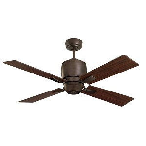 "Veloce Collection 46"" Oil Rubbed Bronze Ceiling Fan with Oil Rubbed Bronze Blades CF230ORB"