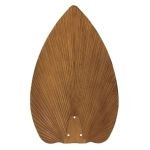 "Emerson Fans 22"" Hand Carved Pecan Palm Leaf Blades (Set of 2) B88PCN"