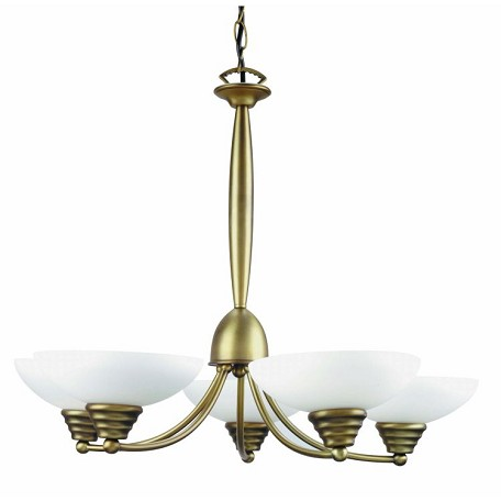 "Maestro Collection 24"" 5-Light Bronze Chandelier LS-14145BRZ"