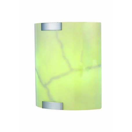 "Nimbus Collection 4"" 2-Light Polished Steel Wall Sconce LS-1628"