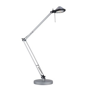 "Ockley Collection 29"" 1-Light Silver Desk Lamp LS-21665SILV"