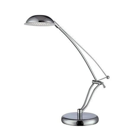 "Eladio Collection 20"" 36-Light Chrome Desk Lamp LS-22200C"