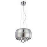 "Othello Collection 9"" 8-Light Chrome Pendant EL-10064"