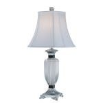 "Vetta Collection 28"" 1-Light Chrome Table Lamp EL-30028"