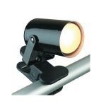 "Mini Spot Collection 1-Light 5"" Black Metal Clip-On-Lite Accent Lamp LS-119BLK"