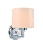 "Darra Collection 6"" 1-Light Chrome Wall Lamp LS-16161"