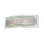 "Bolivar Collection 3"" Chrome Wall Lamp with Frosted Glass LS-16777"