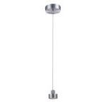 "Elaxi Collection 4"" 3-Light Aluminum Pendant Lamp LS-18141ALU"