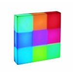 "Rubik Collection 10"" 9-Light Multi-Colored Desk Lamp LS-21680"