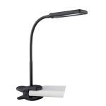 "Zaiden Collection 14"" 1-Light Black Clip-On Lamp LS-22006BLK"