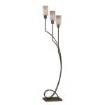 "Saeran Collection 62"" 3-Light Antique Bronze Floor Lamp LS-82148"
