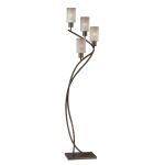 "Saeran Collection 62"" 4-Light Antique Bronze Floor Lamp LS-82149"