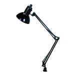 "Swing Arm Collection 35"" 1-Light Black Clip-On Lamp LSF-105BLK"