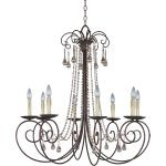 "Adriana Collection 8-Light 36"" Urban Rustic Chandelier 22207UR"