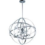 "Sputnik Collection 9-Light 25"" Polished Chrome Pendant 25133PC"