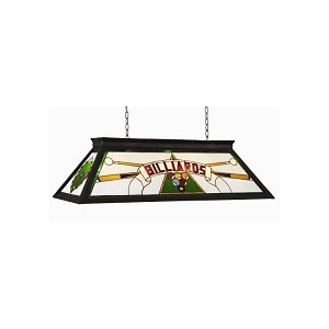 "Billiards Collection 4-Light 44"" Green Billiard Light BILLIARDS KD GRN"