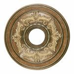 "Livex Lighting 18"" Venetian Patina Ceiling Medallion 8205-57"