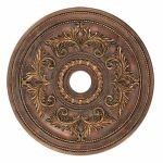 "Livex Lighting 30"" Crackled Greek Bronze Ceiling Medallion 8210-30"